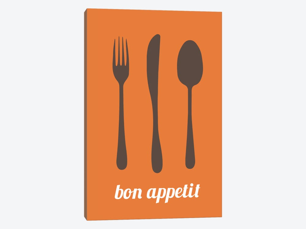 Bon Appetit by Unknown Artist 1-piece Canvas Wall Art