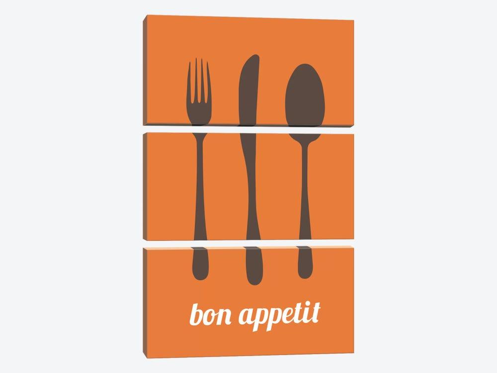 Bon Appetit by Unknown Artist 3-piece Canvas Artwork