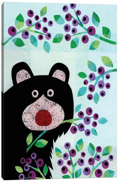 Forest Creatures XI Canvas Art Print