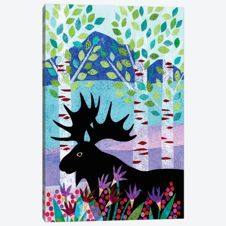 Forest Creatures XII Canvas Print #KCN12} by Kim Conway Canvas Art Print