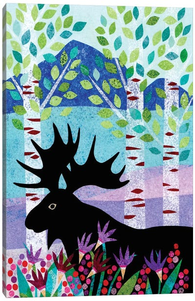 Forest Creatures XII Canvas Art Print