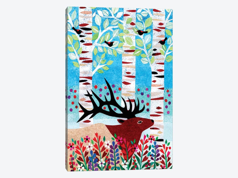 Forest Creatures I by Kim Conway 1-piece Art Print