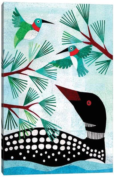 Forest Creatures IX Canvas Art Print