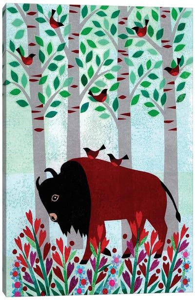 Forest Creatures VI Canvas Art Print