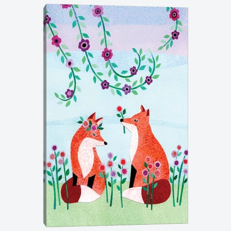 Forest Creatures VII Canvas Print #KCN8} by Kim Conway Canvas Art Print