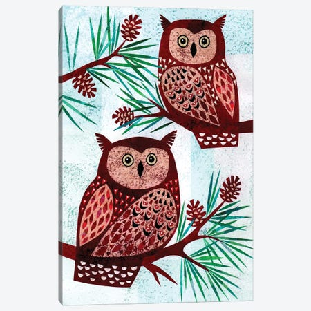 Forest Creatures VIII Canvas Print #KCN9} by Kim Conway Canvas Print