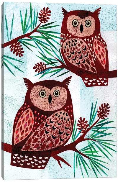 Forest Creatures VIII Canvas Art Print