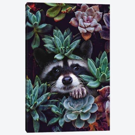 Hello You're Beautiful Canvas Print #KCQ24} by Karen Cantuq Canvas Wall Art