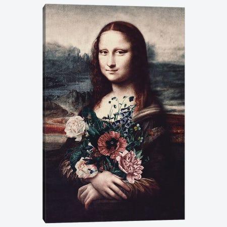 Lisa & Flowers 3-Piece Canvas #KCQ27} by Karen Cantuq Canvas Wall Art