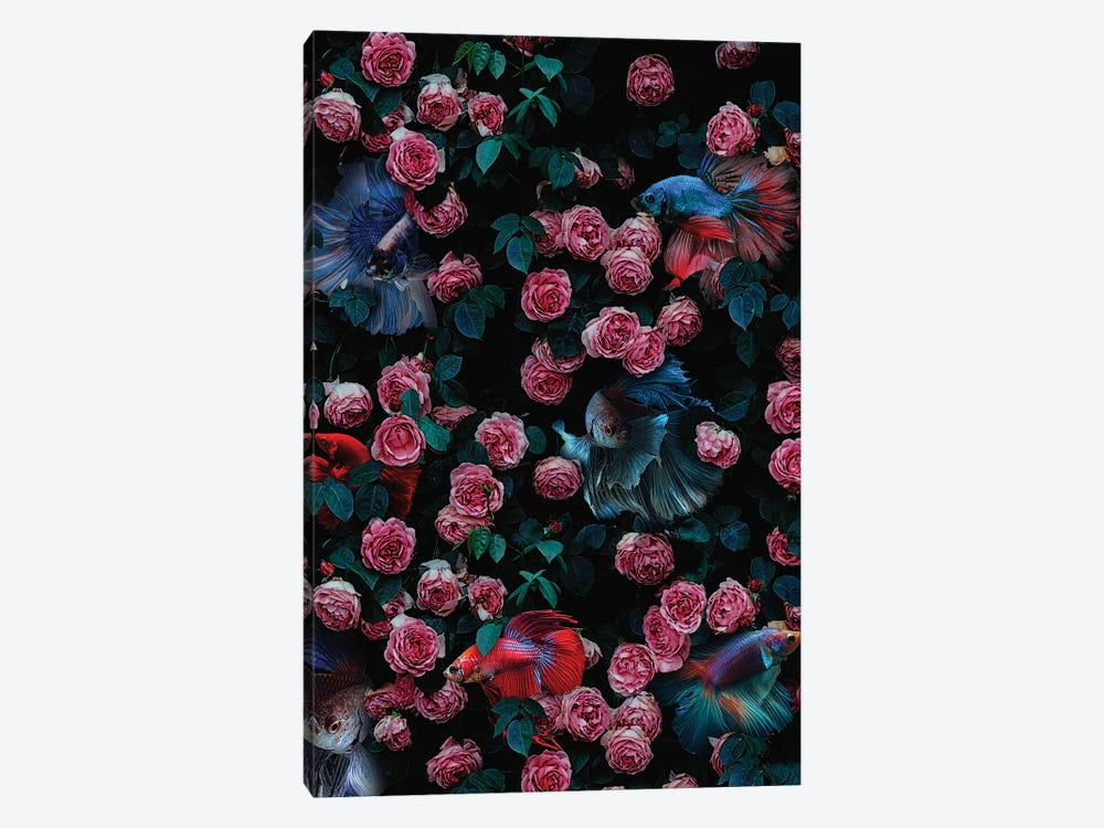 Too Much Going On by Karen Cantuq 1-piece Canvas Print