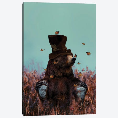 Your Existence Inspires Me to Dream Canvas Print #KCQ6} by Karen Cantuq Canvas Art