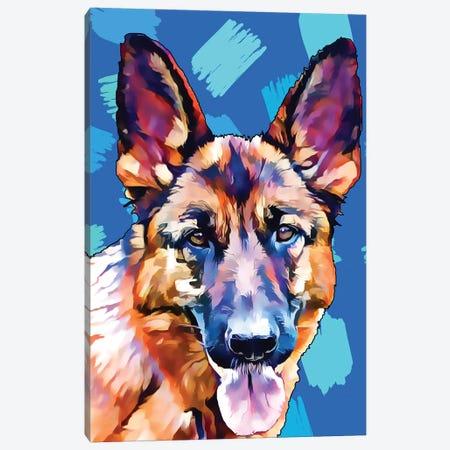 Pop Dog XI Canvas Print #KCU11} by Kim Curinga Canvas Art