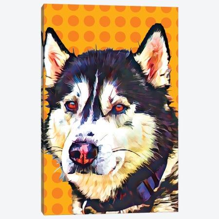 Pop Dog XII Canvas Print #KCU12} by Kim Curinga Canvas Art