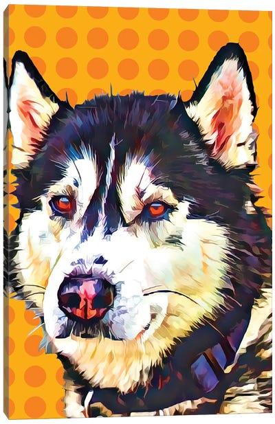 Pop Dog XII Canvas Art Print