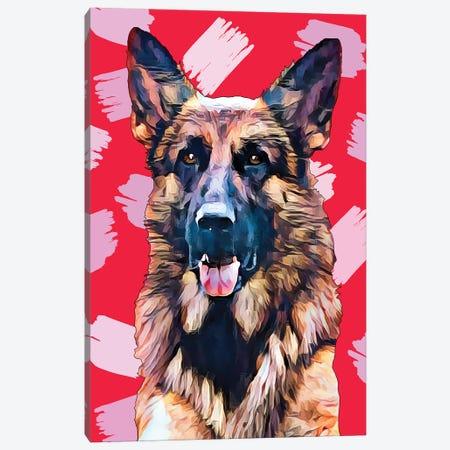 Pop Dog XIV 3-Piece Canvas #KCU14} by Kim Curinga Art Print