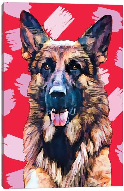 Pop Dog XIV Canvas Art Print