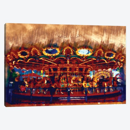Wild Merry I Canvas Print #KCU16} by Kim Curinga Art Print