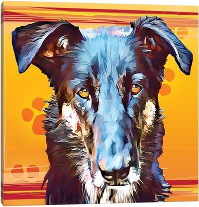 Pop Dog I Canvas Art Print
