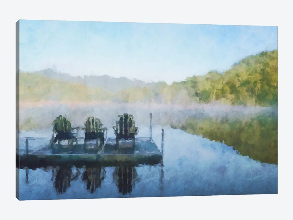 Lodge Series #23 by Kim Curinga 1-piece Canvas Art