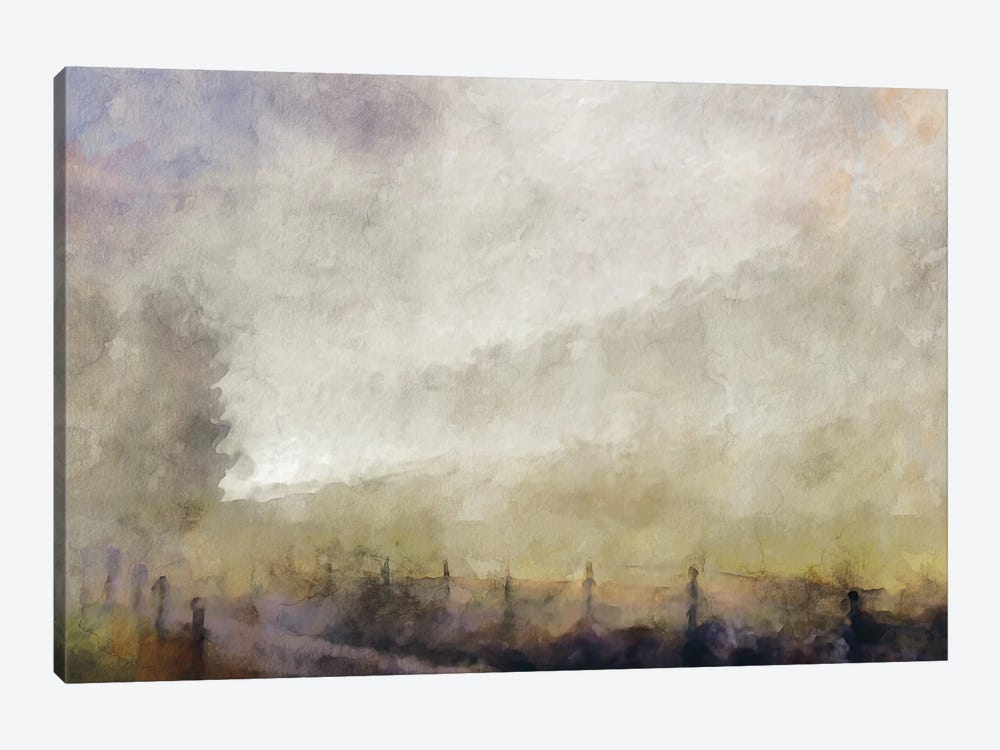 Misty Series #14 by Kim Curinga 1-piece Canvas Artwork