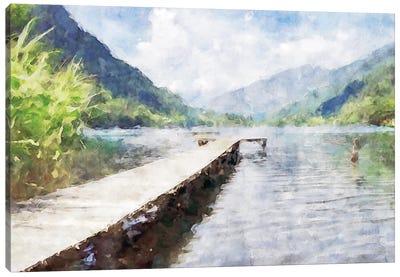 Piers Series #1 Canvas Art Print