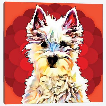 Pop Dog II Canvas Print #KCU2} by Kim Curinga Art Print
