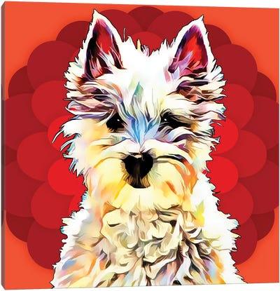 Pop Dog II Canvas Art Print