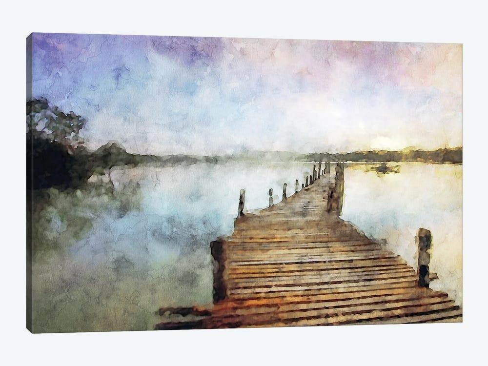 Piers Series #3 by Kim Curinga 1-piece Canvas Art