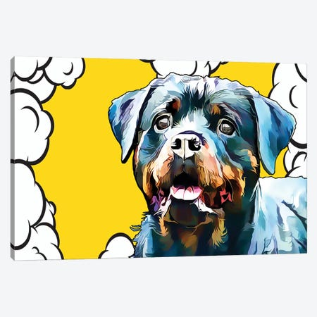 Pop Dog III Canvas Print #KCU3} by Kim Curinga Canvas Art Print