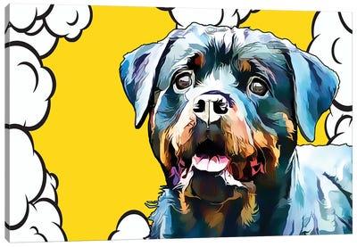 Pop Dog III Canvas Art Print