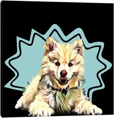 Pop Dog IV Canvas Art Print