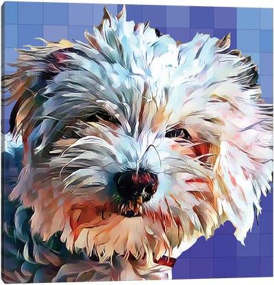 Pop Dog V Canvas Art Print