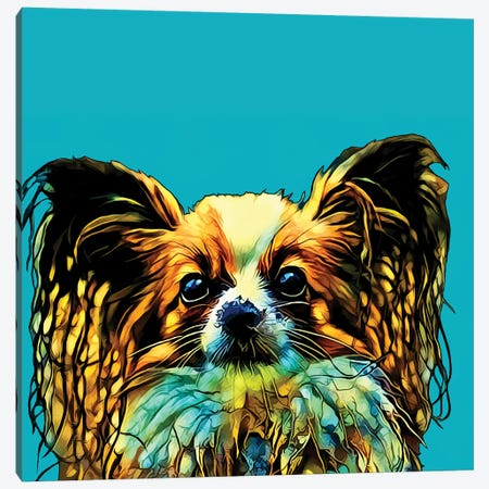 Pop Dog VI Canvas Print #KCU7} by Kim Curinga Canvas Art