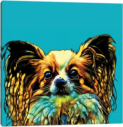 Pop Dog VI Canvas Art Print