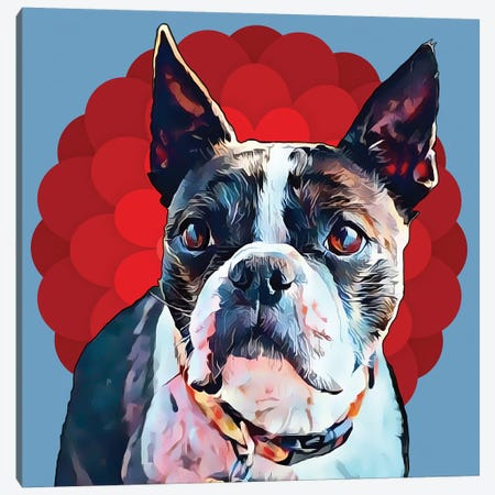Pop Dog VII Canvas Print #KCU8} by Kim Curinga Canvas Art Print