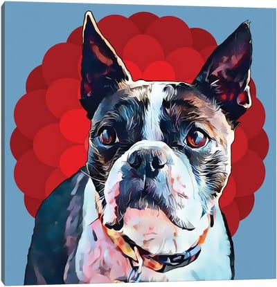 Pop Dog VII Canvas Art Print