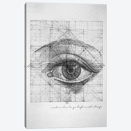 Tabula Rasa Canvas Print #KDE23} by Keith Destro Canvas Artwork