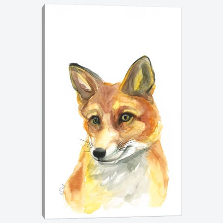 Fox Canvas Print #KDI14} by Kirsten Dill Canvas Art