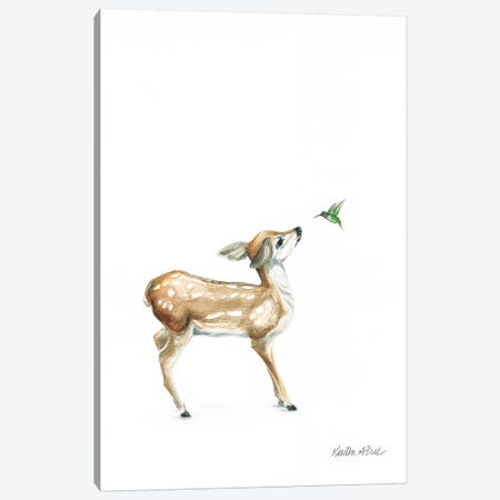 Hello Friend I Canvas Print #KDI16} by Kirsten Dill Canvas Artwork