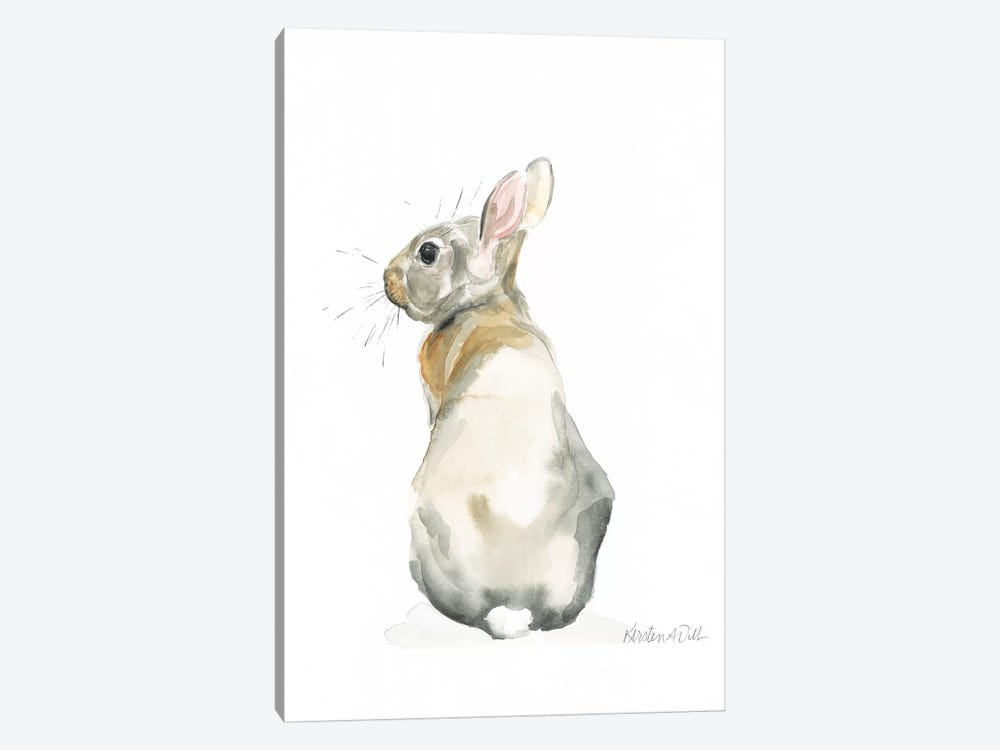 Bunny by Kirsten Dill 1-piece Canvas Artwork