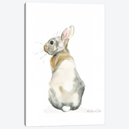 Bunny Canvas Print #KDI2} by Kirsten Dill Canvas Art Print