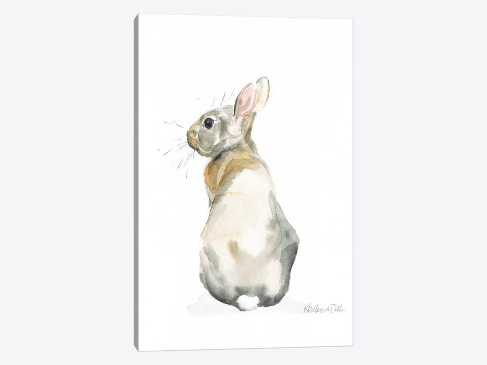 Bunny by Kirsten Dill 1-piece Canvas Artwork
