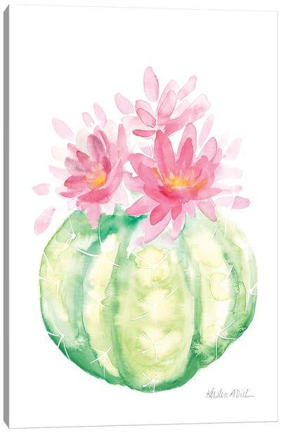 Cactus I Canvas Art Print