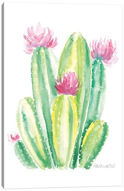 Cactus II Canvas Art Print