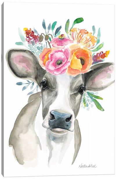 Cow Canvas Art Print