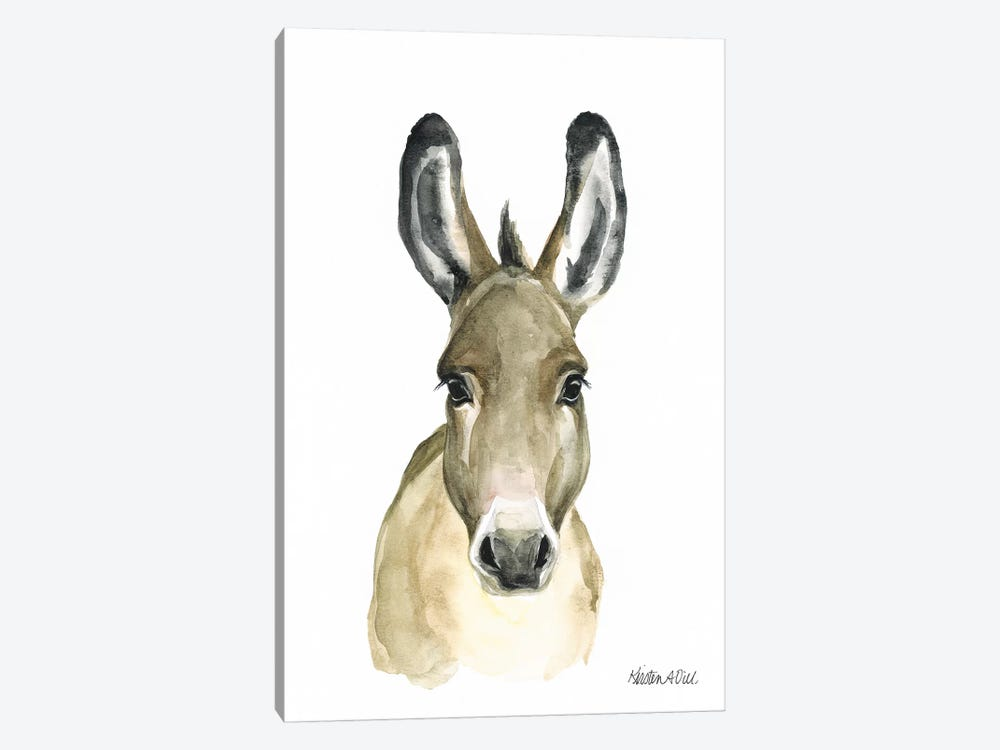 Donkey by Kirsten Dill 1-piece Canvas Wall Art