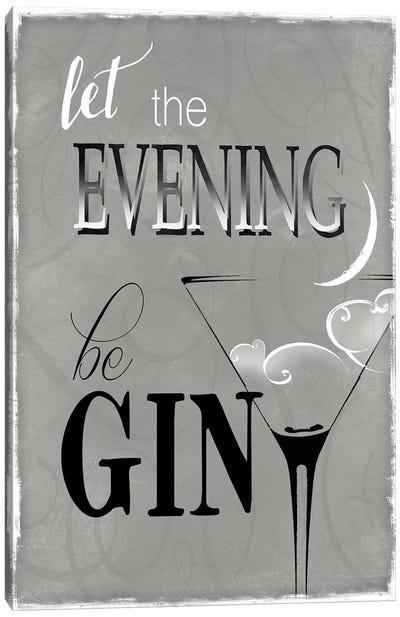 Evening Be Gin Canvas Art Print