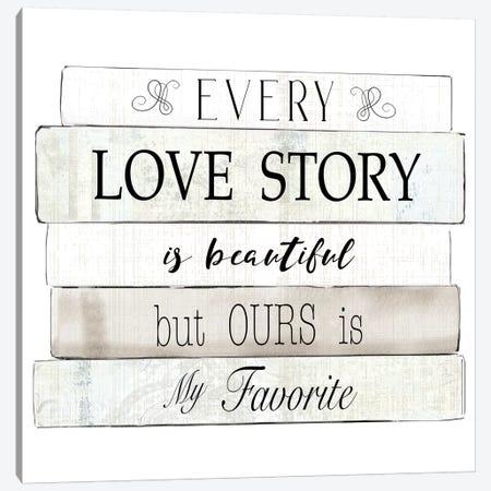 Every Love Story Canvas Print #KDO12} by Kelly Donovan Canvas Print