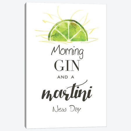 Morning Gin Canvas Print #KDO13} by Kelly Donovan Canvas Art Print