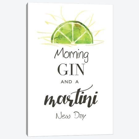 Morning Gin Canvas Print #KDO13} by Kelly Donovan Canvas Art Print